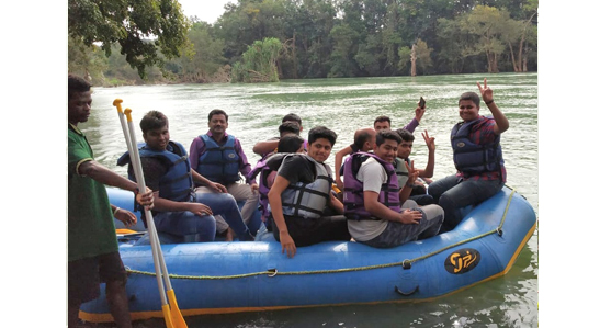 One day recreation in Dandeli